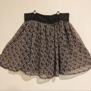 Twenty-one Floral Skirt